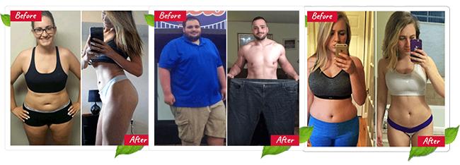 4 Week Diet Results