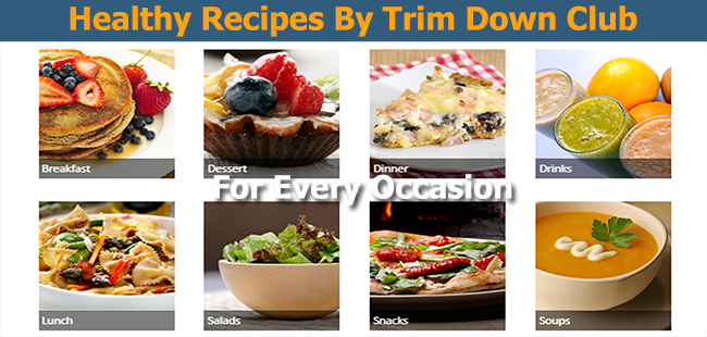 Trimdown Club Recipes