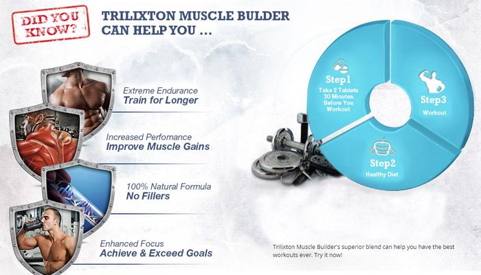 Trilixton Muscle Builder benefits